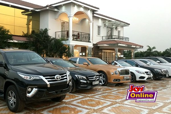 NAM1's cars and Mansion